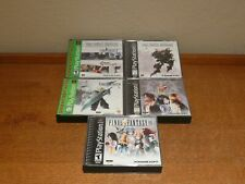 Final Fantasy Bundle Set VII VIII IX Chronicles Anthology PS1 PlayStation Lot***