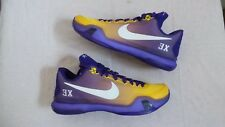 Nike Air Zoom Kobe 10 X Player Sample Edition PE Montverde size 10 DS NEW Bryant