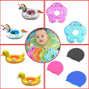 Inflatable Floats Swimming Swim Ring Pool Kids Water Sports Beach Toy Unicorn