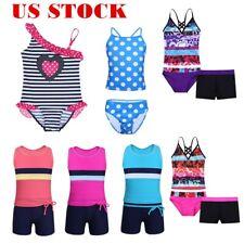 Toddler Kid Girl Swimwear  Floral Printed Swimsuit Swimming Bathing Surfing Suit