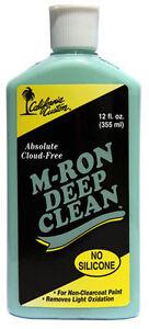 California Custom M-RON Deep Clean Polish Kenworth Peterbilt Mack Western Star