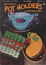 POTHOLDER Crochet PaTTERNS Chicken VEGETABLES Tartan APPLE Watermelon SQUASH