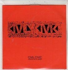 (DC596) Civil Civic, Lights on a Leash - 2010 DJ CD