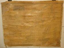 ANTIQUE 1851 GLOUCESTER & ROCKPORT HF WALLING CAPE ANN MAP -PRE CIVIL WAR MA MAP