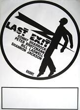 "LAST EXIT TOUR POSTER / KONZERTPLAKAT ""BILL LASWELL PETER BRÖTZMANN"""