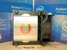Intel BTX Heatsink CPU Cooler Fan for Pentium Extreme 955 965 Type II LGA775 New