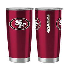 San Francisco 49ers Travel Tumbler - 20oz Ultra [NEW] NFL Cup Mug Coffee