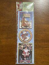 Christmas Stickers Mary Engelbreit Believe, Happiness, FreeShip