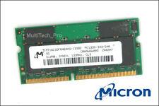 Original -  Micron 16 Chips 144 Pin 512 MB PC-133 - TOP