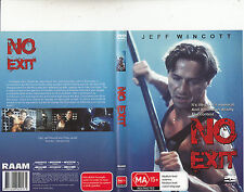 No Exit-1995-Jeff Wincott-Movie-DVD