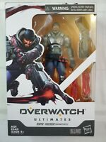 "Hasbro Overwatch Ultimates Series Blackwatch Reyes Reaper 6"" Damage class figure"