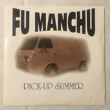 """FU MANCHU Pick Up Summer 7"""" single (black) Nebula QOTSA Kyuss"""