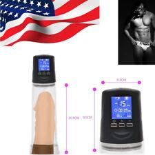 Electric Beginner Male Man Penis Enlarger Pump Bigger Enlargement Enhancer FDA
