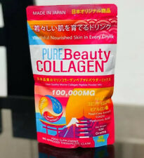3️⃣pcs PURE BEAUTY COLLAGEN. 100g (Made In Japan) CA 🇺🇸🇺🇸🇺🇸
