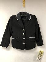 Veste d'équitation Enfant HKM Taille 116 couleur Noir neuf!!!