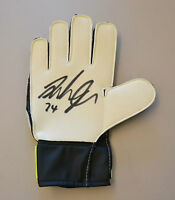 Andy Lonergan Signed Goalkeeper Glove Fulham Goalie Autograph Memorabilia + COA