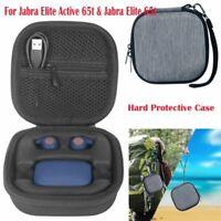 Pour Jabra Elite Active 65t & Jabra Elite 65t Etuis Housses Cas & Anti-Lost Hook