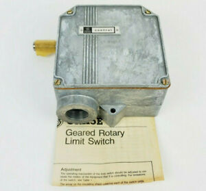General Electric CR115E422112 Rotary Limit Switch, New!