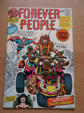 DC: FOREVER PEOPLE #1, 1ST FULL APPEARANCE OF DARKSEID, JACK KIRBY, 1971, VF-!!!