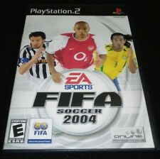 AUTHENTIC Fifa Soccer 2004 Original PlayStation 2 2003 PS2 Tested CIB OEM Clean