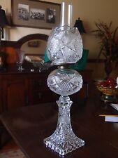 """Antique """"Clarissa"""" oil lamp circa 1880-1900 reduced price"""