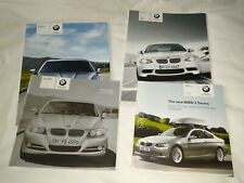 Car brochures BMW & Vauxhall