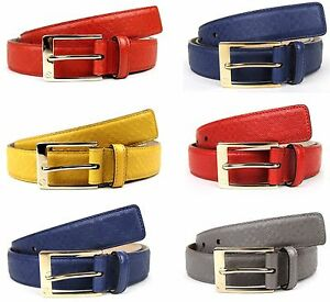 NEW Authentic GUCCI Mens Diamante Leather Belt with Square Buckle 345658