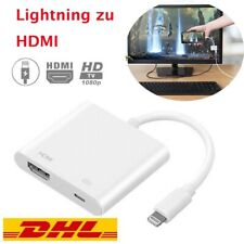 1080P Lightning zu Digital AV TV HDMI Kabel Adapter für iPad Air Apple iPhone DE