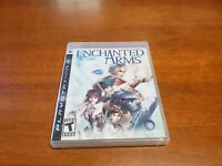 Enchanted Arms (Sony PlayStation 3, 2007) PS3 CIB Complete with Manual TESTED