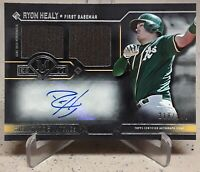 2017 Topps Museum Collection RYON HEALY Auto Rookie Dual Relics /299