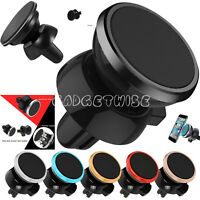 Air Vent Magnetic Car Mount Holder 360 Degree Rotation universal For All Mobiles
