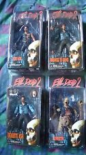 NEW Evil Dead 2 Bruce Campbell Neca Complete Series Toy Lot Army of Darkness