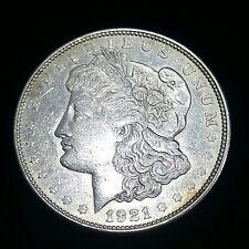 Authentic US Morgan Silver Dollar 1921D (1878-1921)