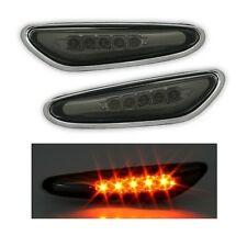 2 CLIGNOTANT LED NOIR CRISTAL BMW SERIE 3 E46 BERLINE PHASE 2 SERIE 5 E60 X3 E83