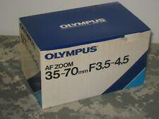 Olympus AF Zoom Lens 35-70mm f/3.5-4.5 New in Box