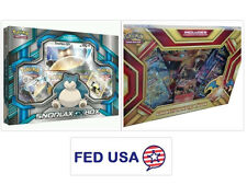 Snorlax GX Box + Charizard EX Box POKEMON TCG Collection Sealed Booster Packs