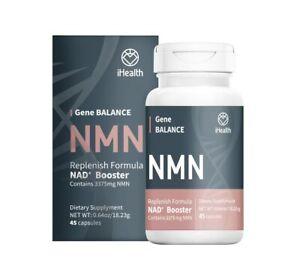 iHealth NMN Gene BALANCE - 45 Capsules Limited Edition - Ship by iHealth