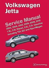 Volkswagen Jetta (A5) Service Manual : 1. 9L and 2. 0L diesel, 2. 0L and 2. 5L g