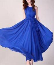 DW Chiffon Maxi Dress with Inner Lining