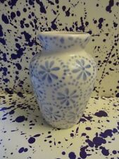 Emma Bridgewater Blue Daisy Spot Small Mustard Vase