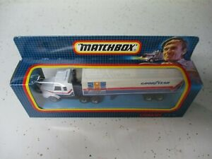 "Matchbox Thailand Convoy CY-16 Scania Box Truck ""Goodyear"", boxed"