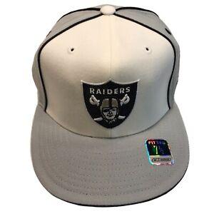Las Vegas Raiders NFL Reebok Gridiron Classic 7 1/2 Fitted Cap Hat $25 Oakland