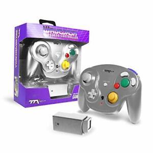 New TTX Tech WAVEDASH Wireless Controller for Nintendo GameCube or Wii - SILVER