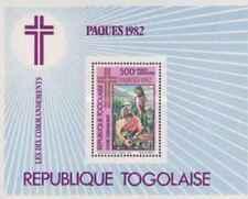 Timbre Religion Paques Togo BF162 ** lot 24237