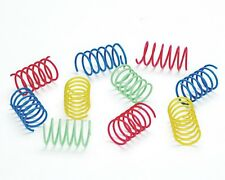 Ethical Products Spot Colorful Cat Springs Thin Wide Spiral Variety 10 pack