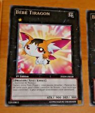 TCG Yu-Gi-Oh RARE CARD CARTE Bébé Tiragon PHSW-FR038 FR VF NM