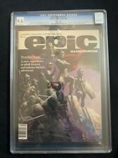 EPIC ILLUSTRATED #1 CGC 9.6 FRANK FRAZETTA COVER!!! SILVER SURFER GALCTUS STORY!