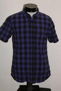 VANS Mens medium M Button-up shirt Combine ship Discount