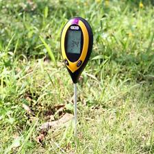 Dr.Meter 4 In 1 soil tester pH moisture temperature sunlight intensity lux meter