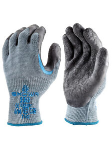 10 Pair SHOWA 330 Re-Grip Gloves - Scaffolder Reinforced Latex Palm- All Sizes
